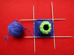 юбка для барби вязание